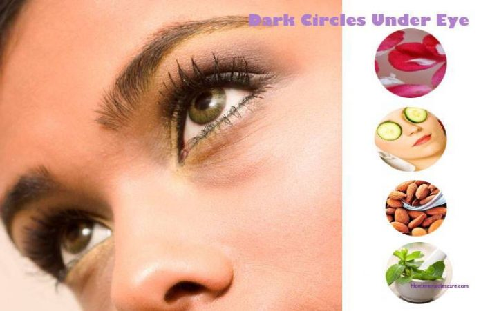 Natural Home Remedy For Under Eye Dark Circles