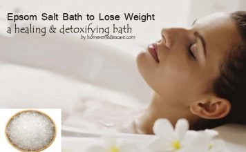 Amazing Epsom Salt Bath to Lose Weight