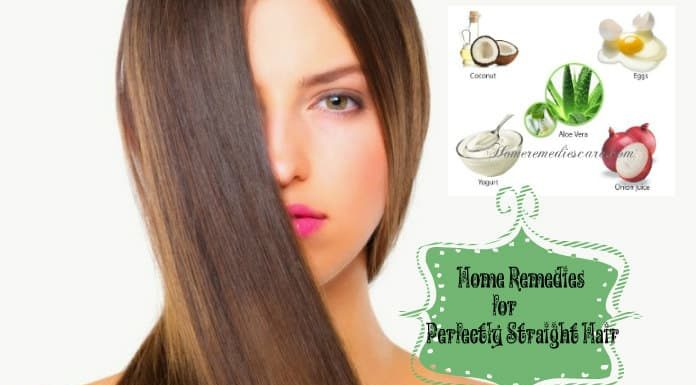 Home Remedies for Straight Hair