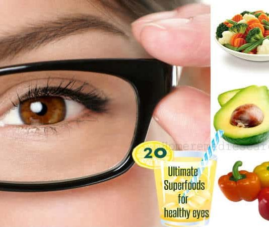 Superfoods for Healthy Eyes and for a Better Vision