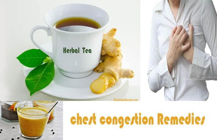 How To Get Rid Of A Chest Congestion Naturally