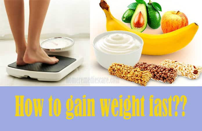 pics How to gain weight quickly with natural healthy foods