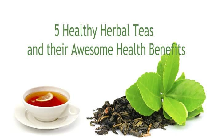 Health Benefits of Drinking Herbal Teas