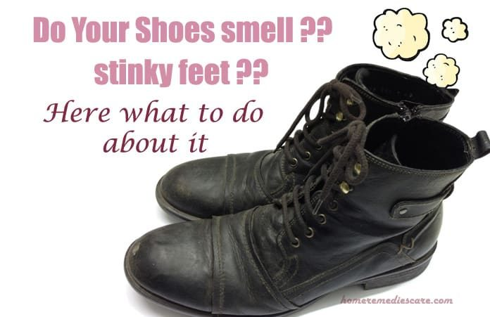 how to take care of smelly shoes
