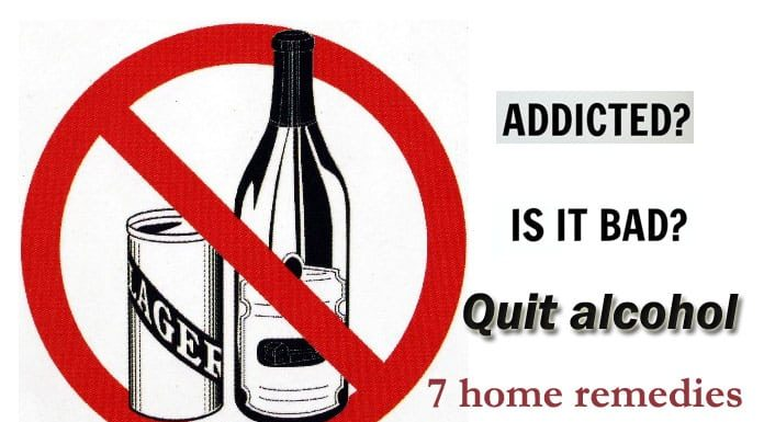 Home Remedies for Quit Drinking Alcohol