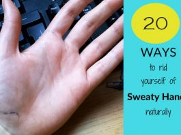 home remedies to get rid of sweaty hands and feet