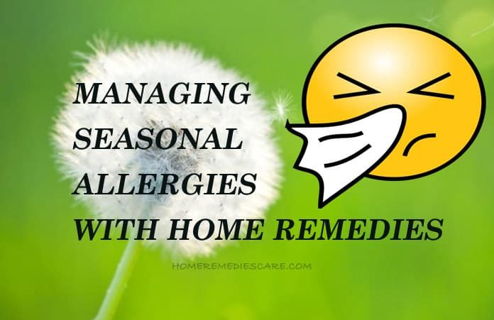 How to Get Rid of Seasonal Allergies Naturally
