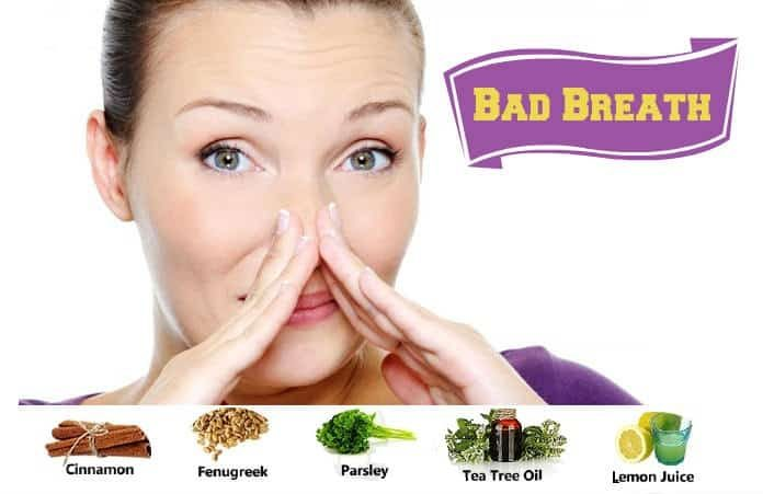 How To Get Rid Of Bad Breath By Natural Home Remedies