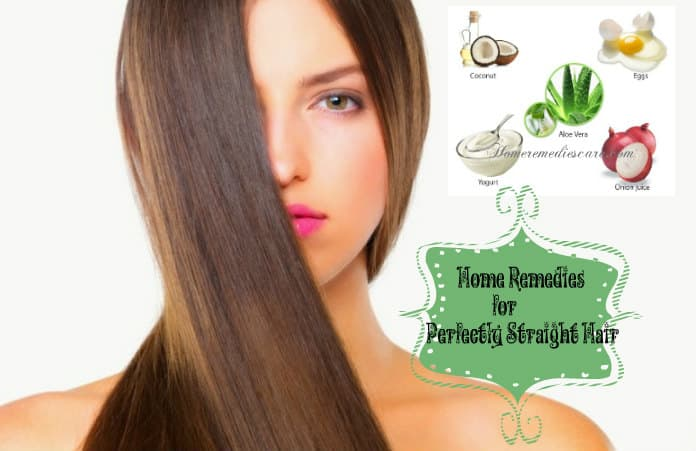 20 Natural Home Remedies For Straight Hair That Work Wonders