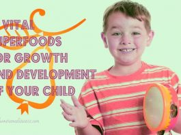 10 Vital Superfoods For the Wholesome Development of Your Children