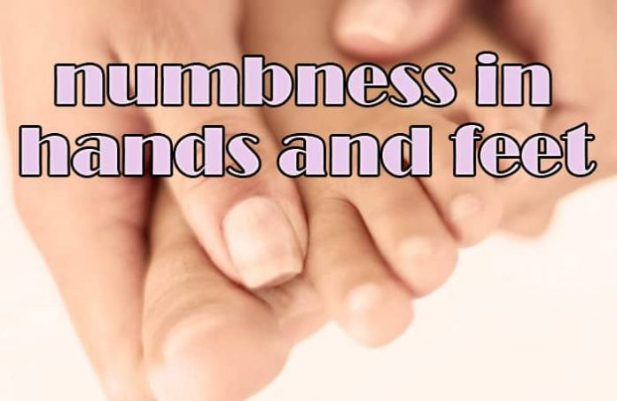 get rid of numbness in hands and feet